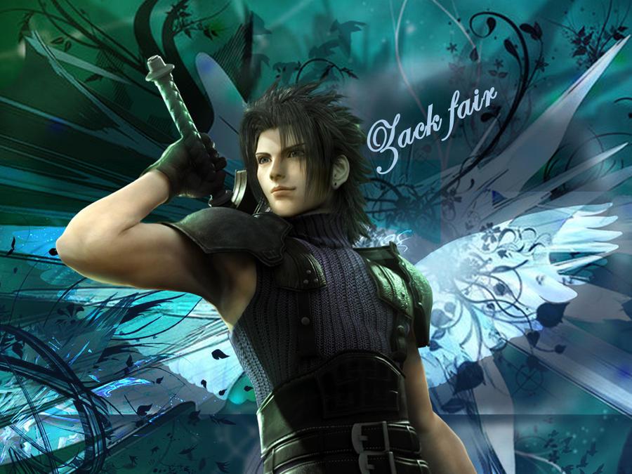 Final fantasy crisis core zack fair by lumenartist on - Zack fair crisis core wallpaper ...