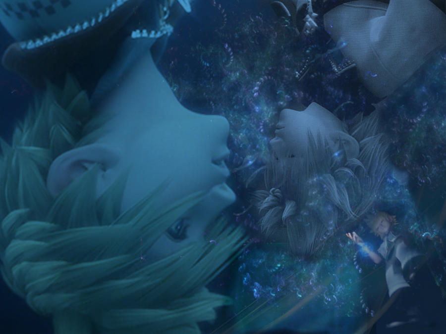 Kindom hearts BBS Ventus Falling by LumenArtist