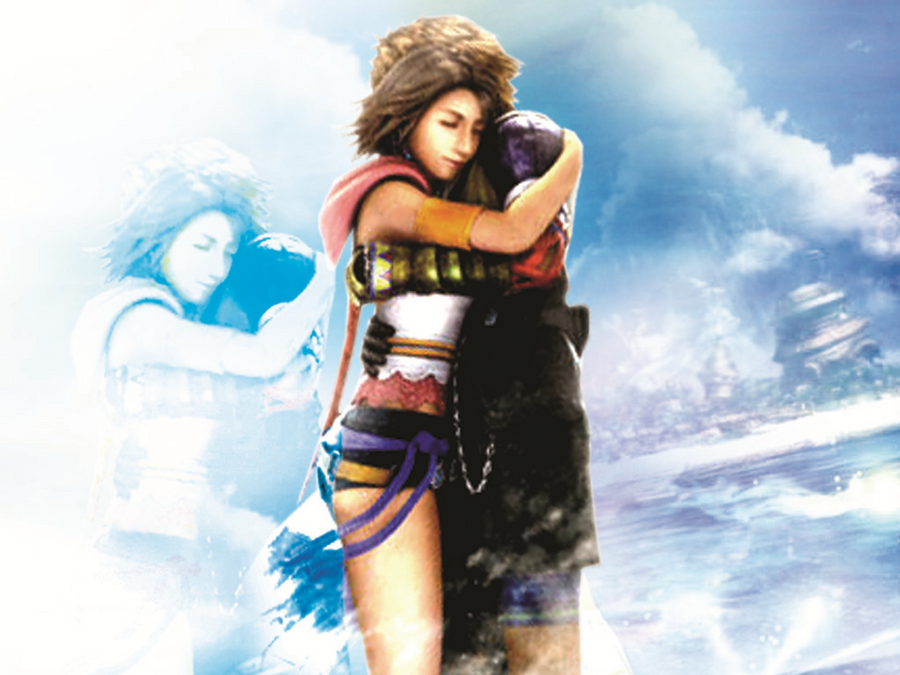 Yuna Tidus images theit love HD wallpaper and background photos
