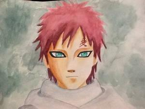 Gaara watercolor