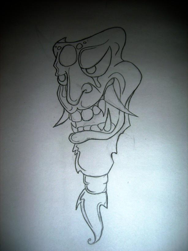 Oni Mask By Venom138 On Deviantart