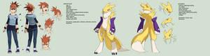 Digimon tamers: mirai character 3 - makino ruki