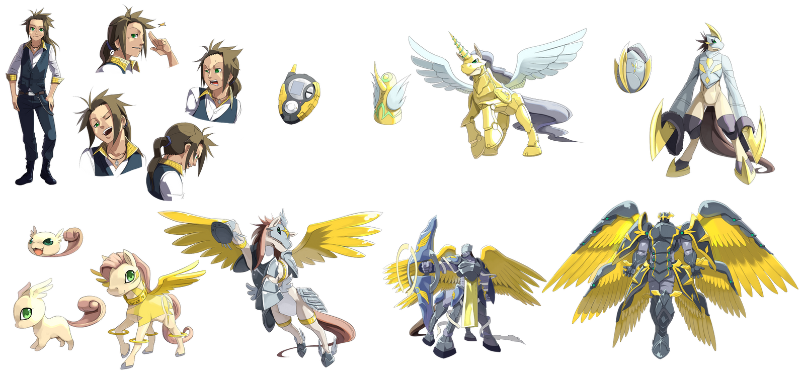 Digimon Season 3 Digiv...