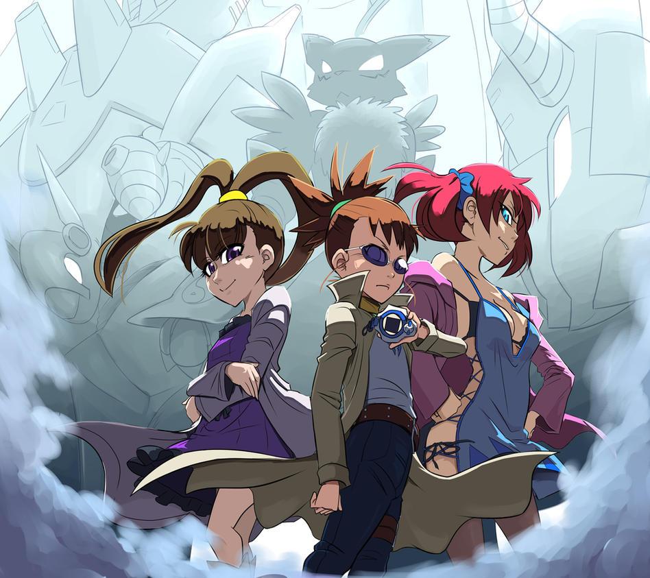 nene/ruki/nokia - Yeah! stand up girls 5 by Riza23