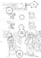 Digimon Tamers - Mirai Project chapter 07/09 by Riza23