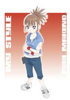 Makino Ruki - My style by Riza23