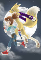 Makino Ruki - Moon Fighter by Riza23