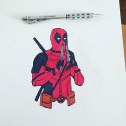 Deadpool Movie Drawing #3