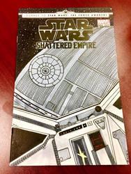 Custom Star Wars Shattered Empire Sketch Cover