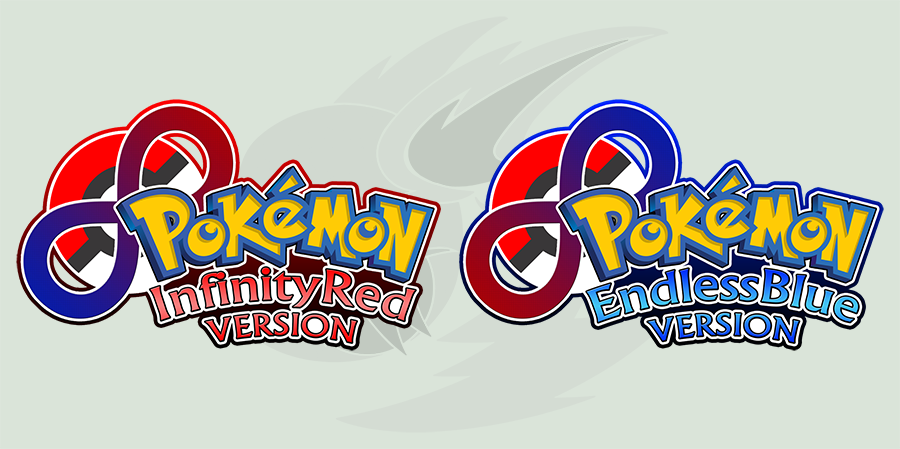 InfinityRed and EndlessBlue Logos (V2) by RaiZhuW-The-Real