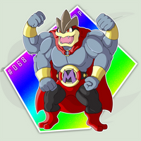 #068: Mega Machamp by RaiZhuW-The-Real