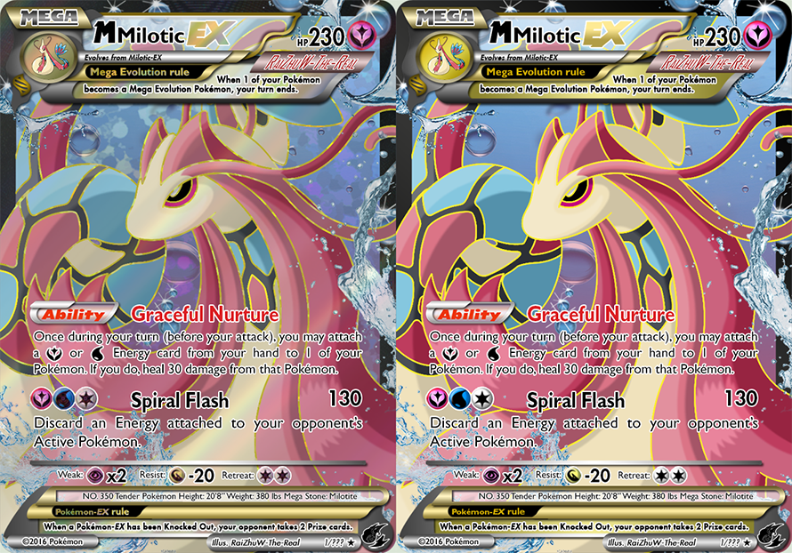 350 Mega Milotic Ex By Raizhuw The Real On Deviantart