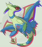Poke'Fuse: Latios x Flygon