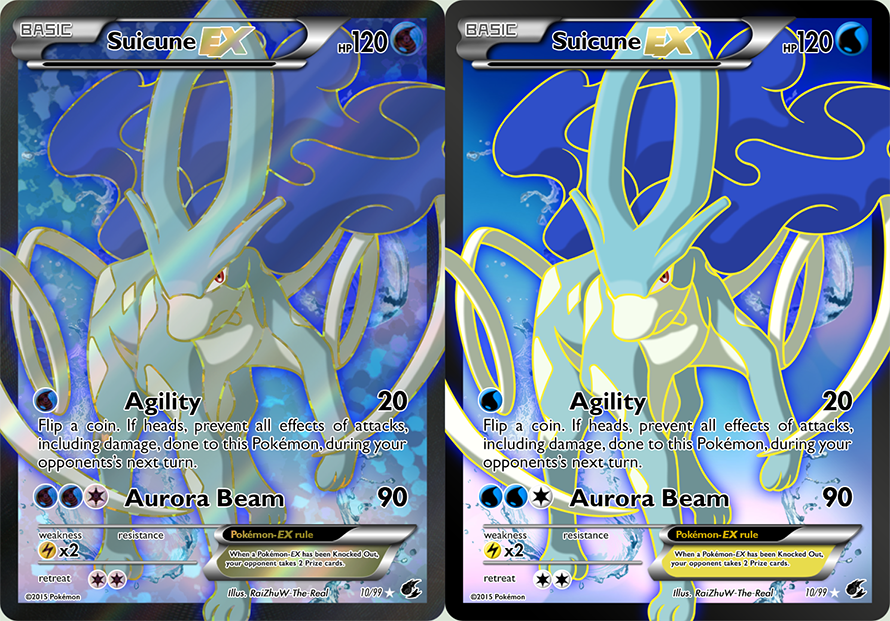 #245: Suicune Ex 10/99 by RaiZhuW-The-Real on DeviantArt