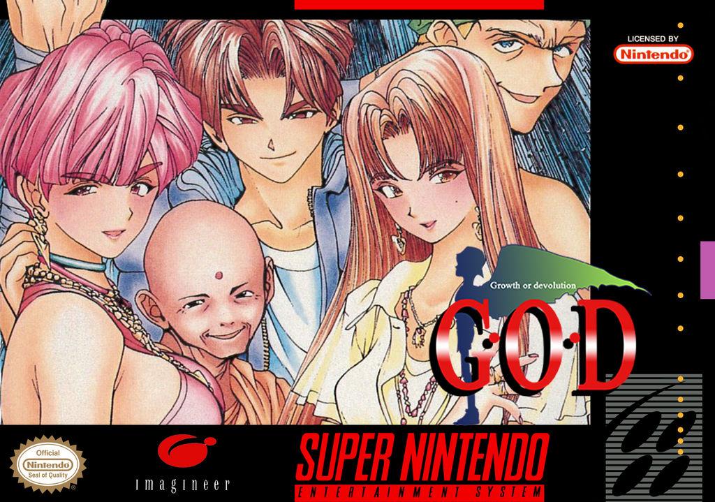 G O D  - Mezameyo to Yobu Koe ga Kikoe (SNES/SFC) by zetraex on