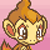 Chimchar crying by RoxasPikachu