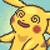 Pikachu dizzy by RoxasPikachu