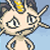 meowth not sure by RoxasPikachu