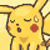 Pikachu sighs plz by RoxasPikachu