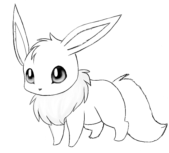 eevee evolutions coloring pages printable - photo#18
