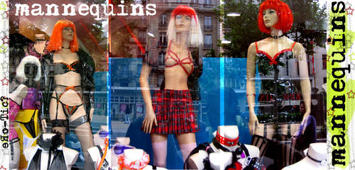 mannequins by kyllme