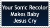 Sonic Recolor by WarriorofJesus