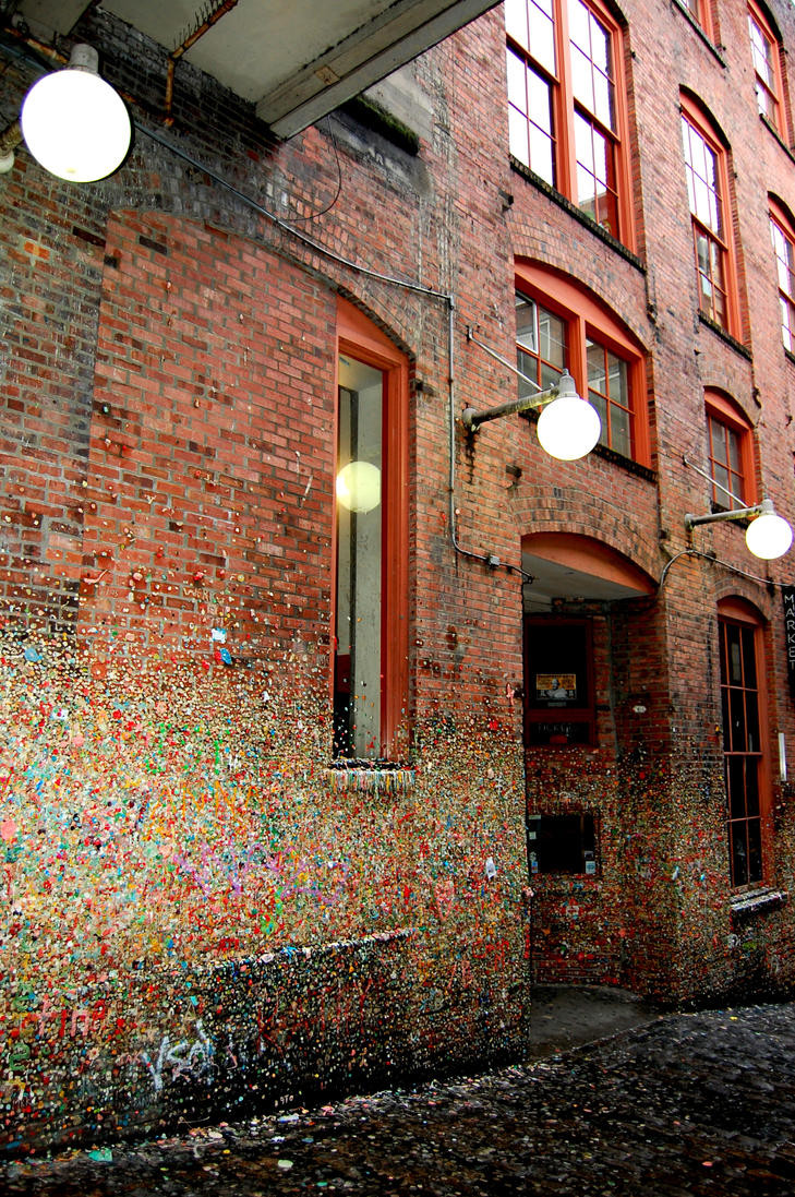 Seattle Famed Gum Wall by Momofbjl