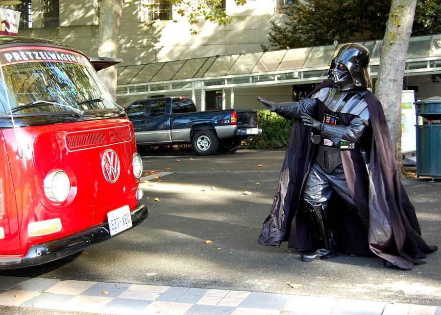 Vader vs VW . . . by Momofbjl