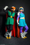 The Great Saiyaman I and II by Toki-MMMC