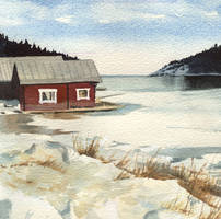 Winter on Harnon by Flingling