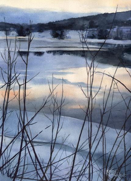 Spring Ice by Flingling