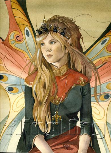 Fairy portrait. by Flingling