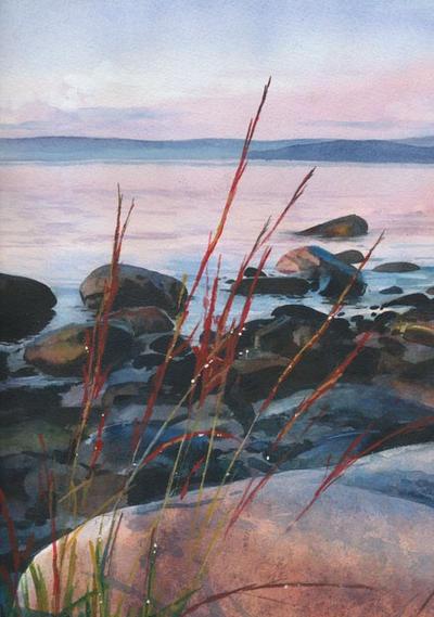 Sealstone Sunset by Flingling