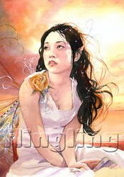 Golden Fairy by Flingling