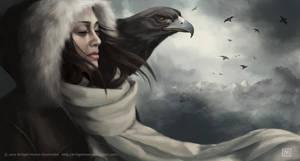 Eagle Girl by bmonro