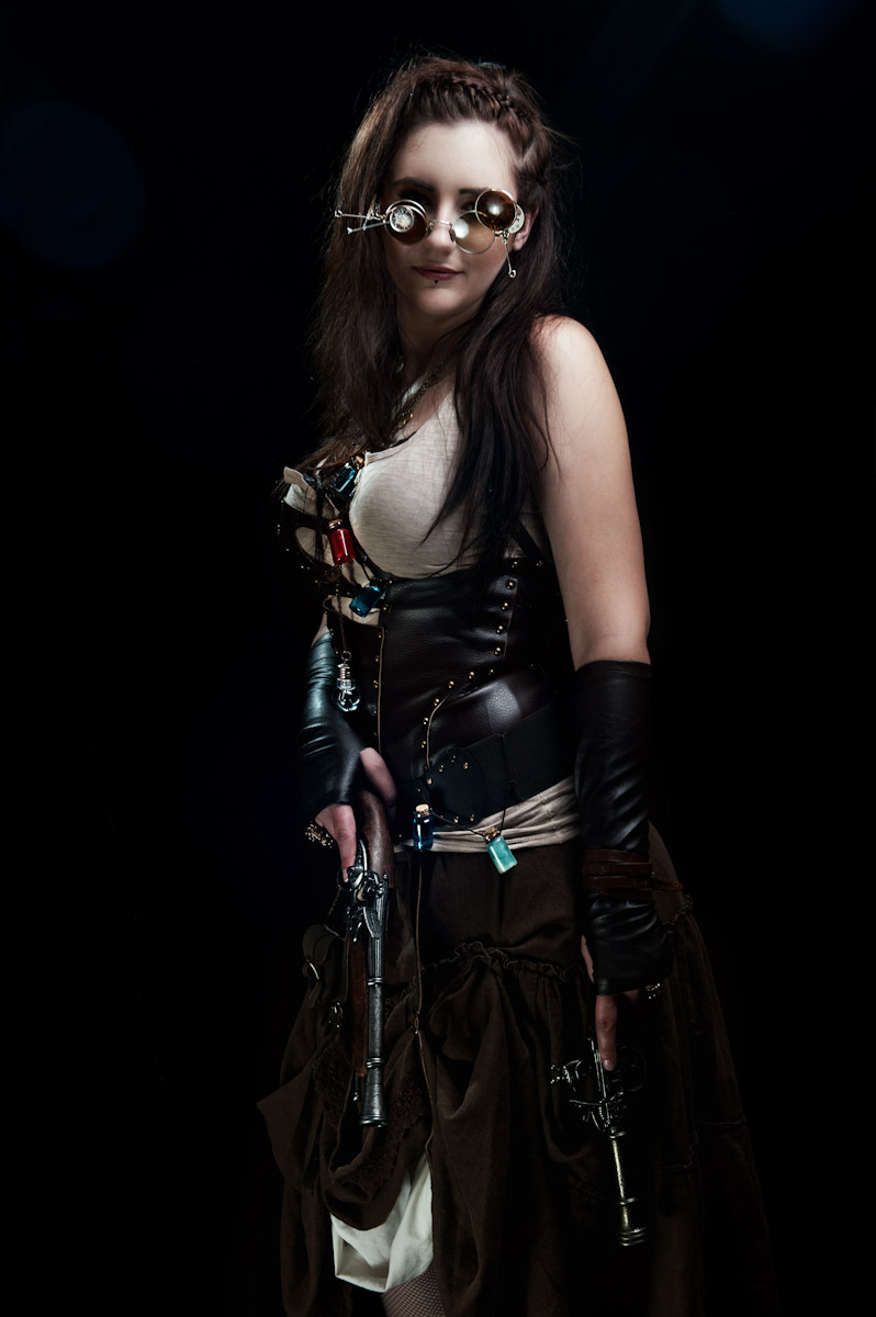 steampunk huntress by cojapodpalam on deviantart