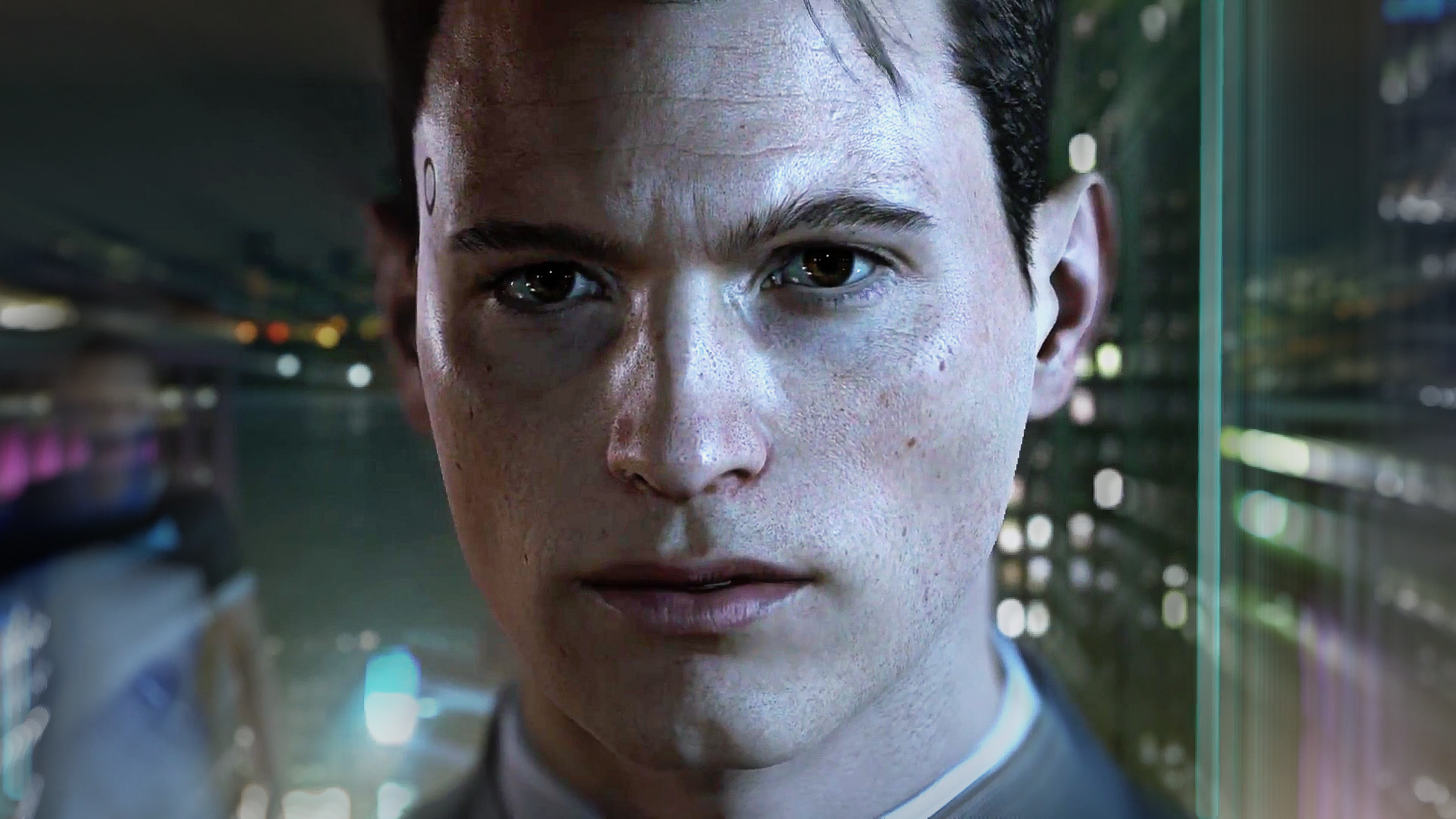 Detroit Become Human Connor Wallpaper By Drive637 On Deviantart