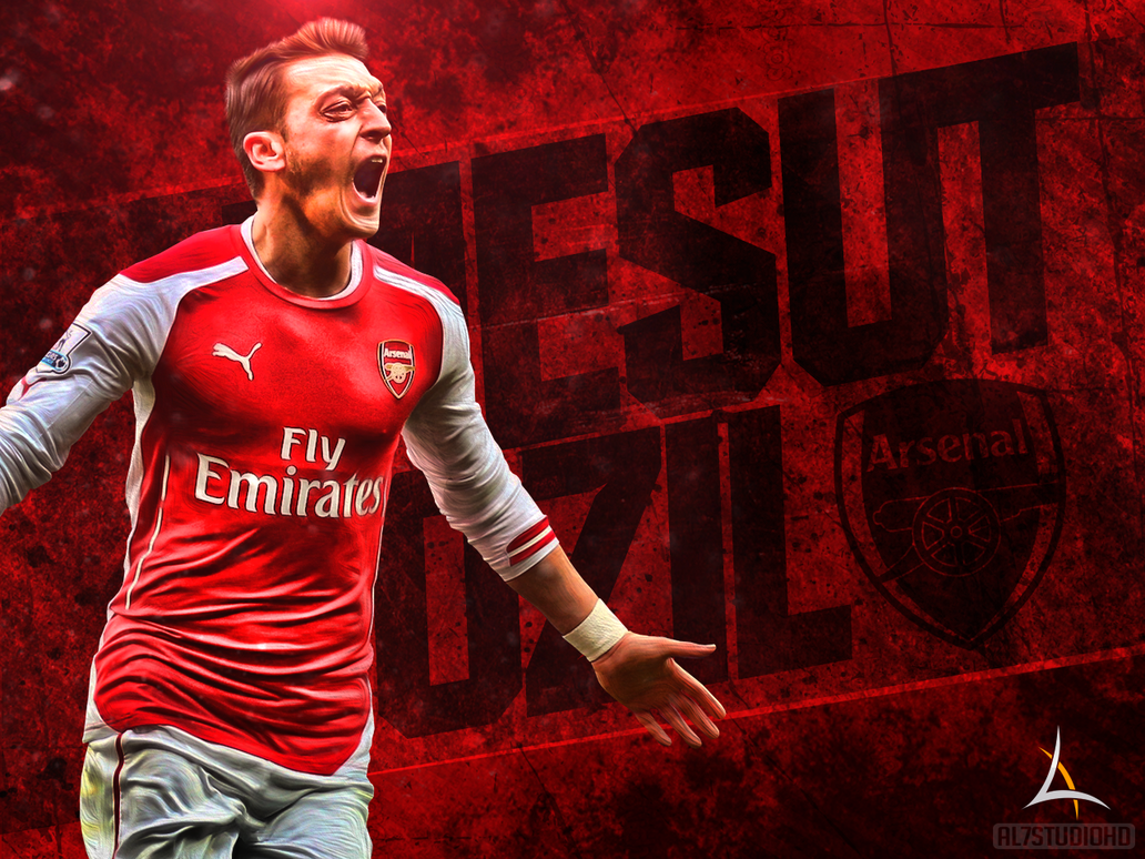 mesut ozil wallpaper by aminos16 on deviantart