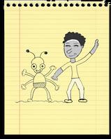 Yellow notebook paper by orangedotgreen on DeviantArt