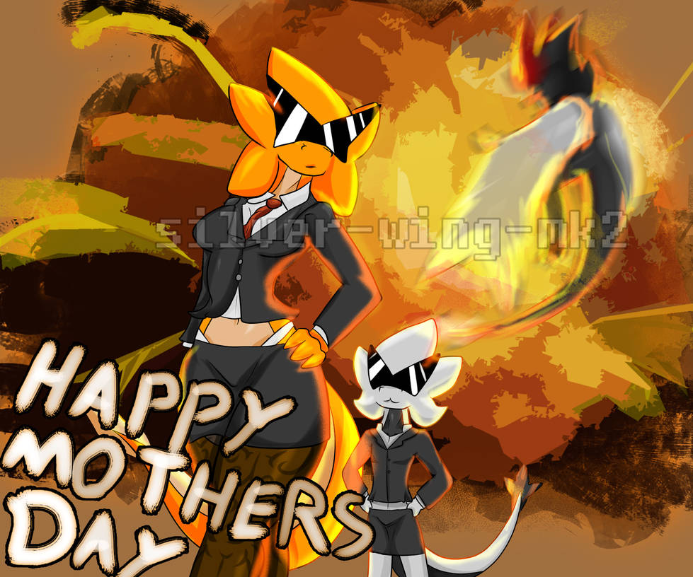 Mothers Day 2019 EXPLOSIVE CELEBRATION by silver-wing-mk2
