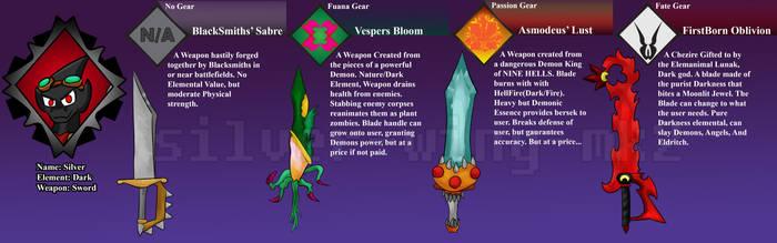 Silvers Weapon Gears by silver-wing-mk2