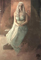 Daenerys Targaryen. by lillak-illustration