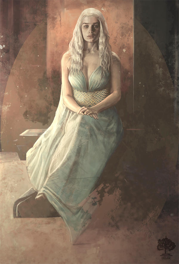 Daenerys Targaryen. by lillak-illustration on DeviantArt