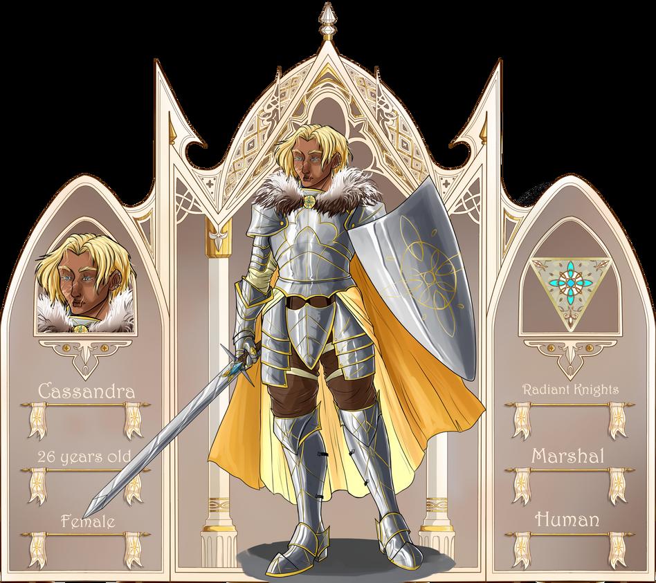 Ludus Chaos -Radiant Knights- Cassandra by Ioana-Muresan