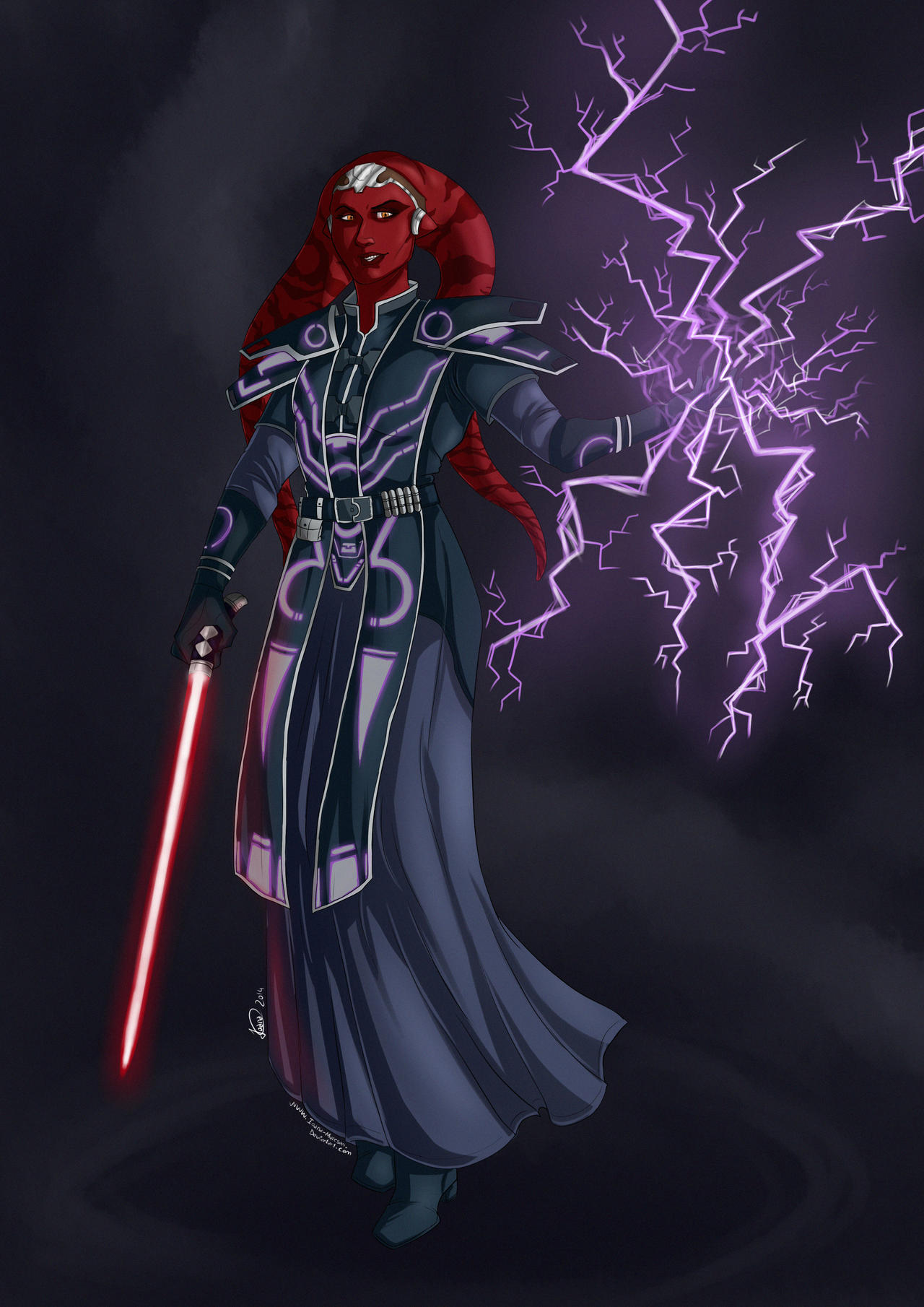 sith inquisitor by ioanamuresan on deviantart