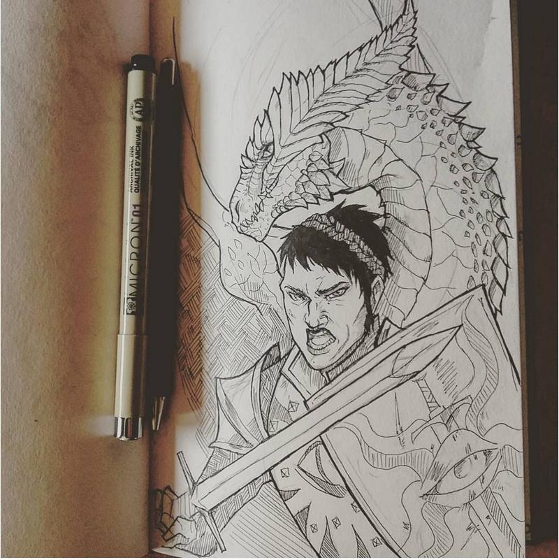 Cassandra the dragon by Ioana-Muresan on DeviantArt
