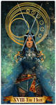 The moon tarot card commission