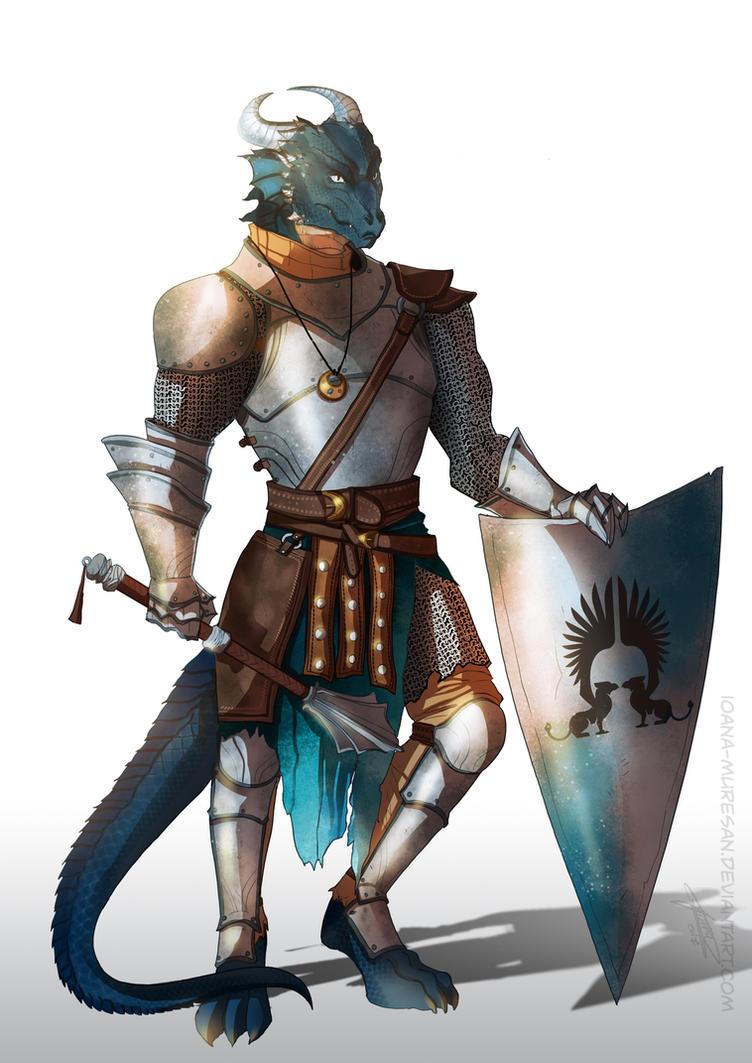 dnd dragon born by ioanamuresan on deviantart