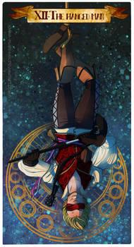 Tarot card- hanged man commission