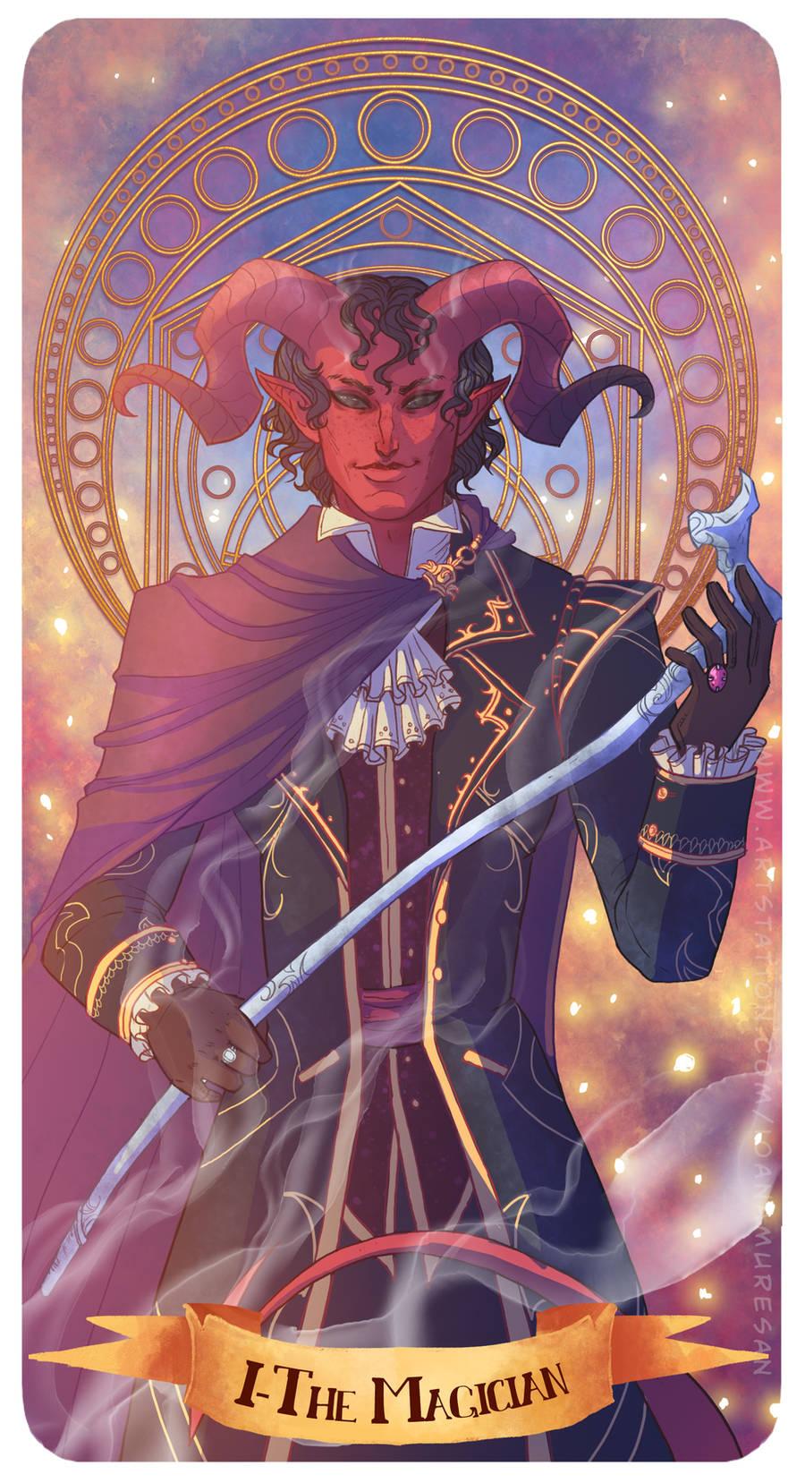 The magician by Ioana-Muresan